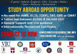 Study Abroad is easy with DeQeo Consulting