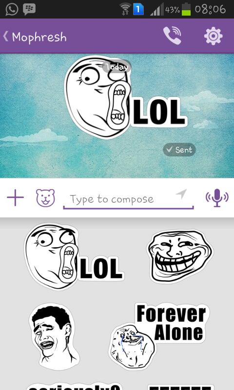 Instant Message Meme : Viber gets even cooler with meme stickers — kheme