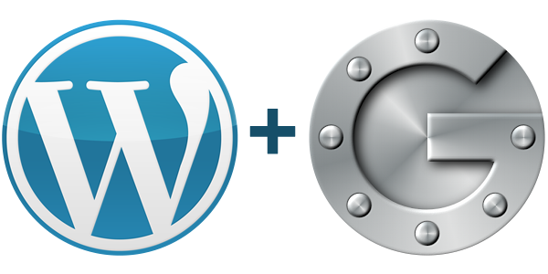WordPress + Google Authenticator